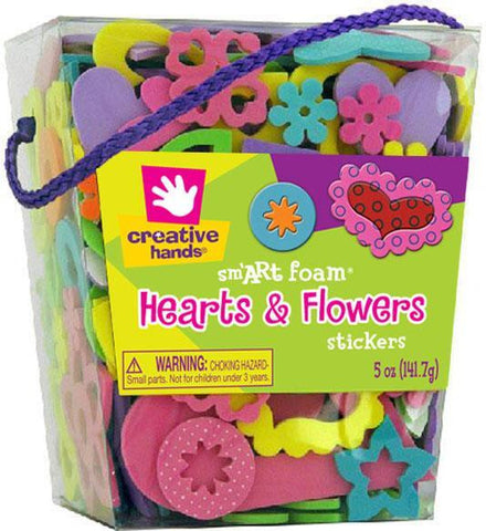 Hearts and Flowers Stickers