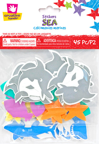 Sea foam stickers