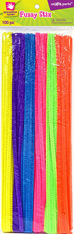 Craft Pipe Cleaners-Bright