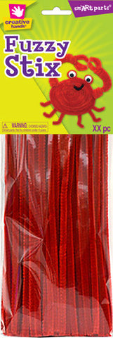 Craft Pipe Cleaners Red
