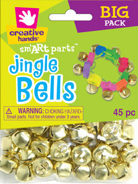 Jingle Bells 16mm 45pc Gold
