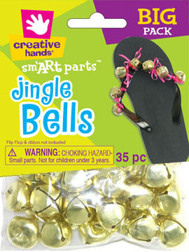 Jingle Bells 20mm 35pc Gold