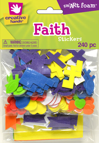 Multicolored Religious Stickers