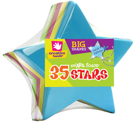 Foam Shape Stack Stars