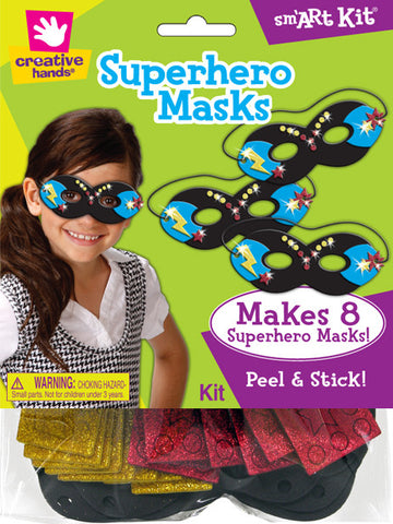 Superhero Masks Craft Kit