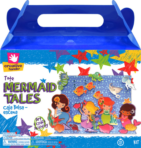 Mermaid Tales Craft Tote