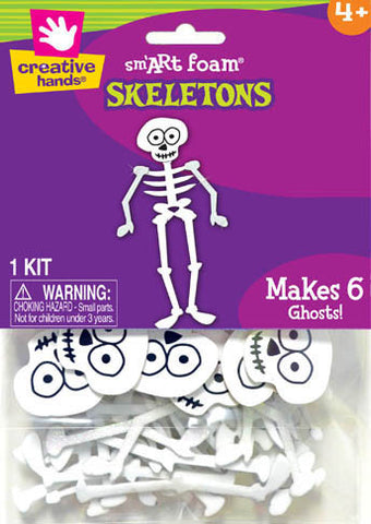 Makes 6 Skeletons