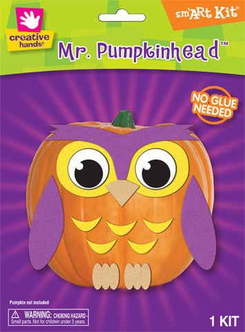 Pumpkin Deco Kit Owl