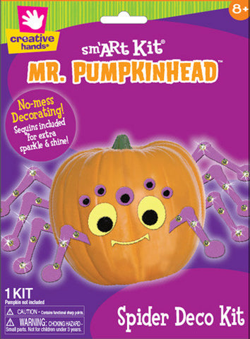 Pumpkin Deco Kit Spider