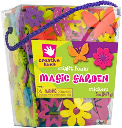 Magic Garden Foam Stickers