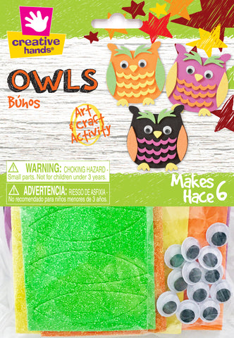 Owls - Makes 6