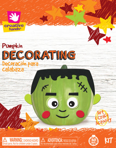 Pumpkin Decorating Kit-Frankenstein