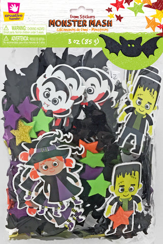 Monster Mash Foam Stickers