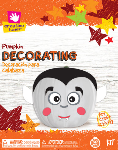 Pumpkin Decorating Kit-Dracula