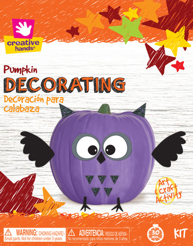 Pumpkin Decorating Kit-Owl