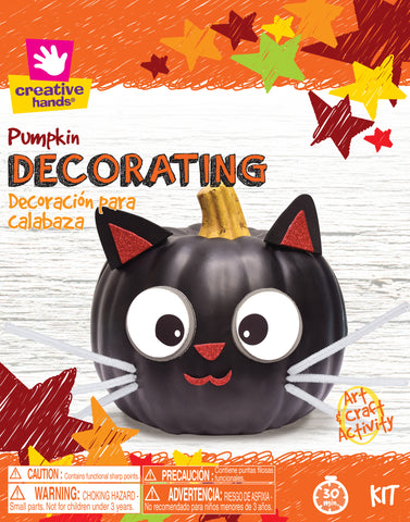 Pumpkin Decorating Kit-Cat