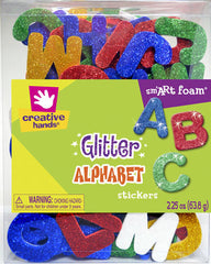 Glitter Alphabet Stickers