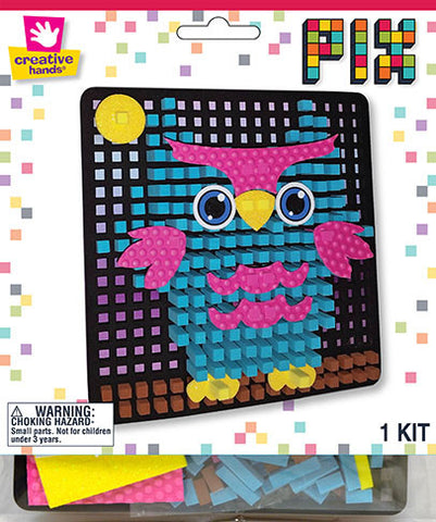 Owl Pixelated Craft Kit