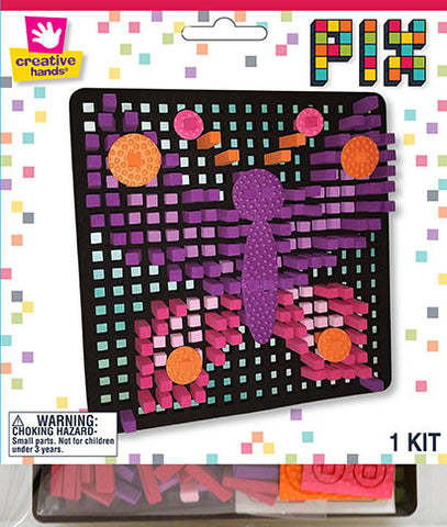 Butterfly Pixelated Craft Kit