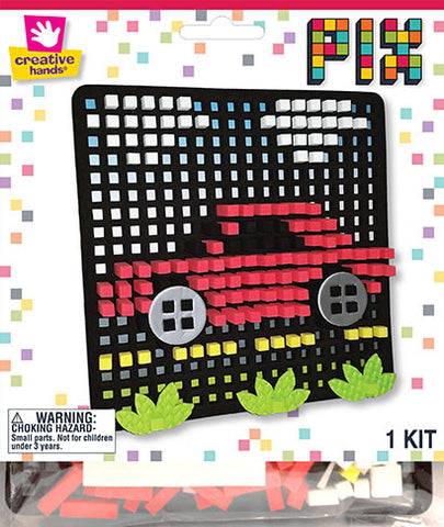 Car Pixelated Craft Kit