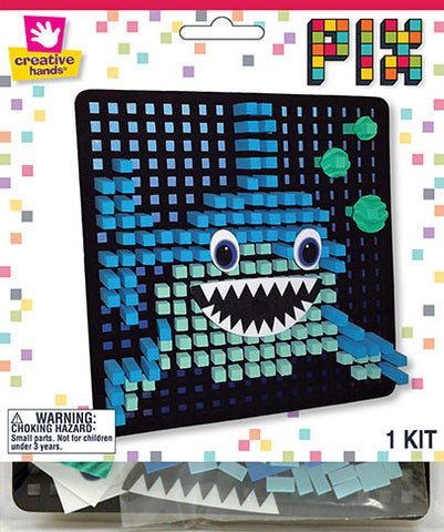 Shark Pixelated Craft Kit