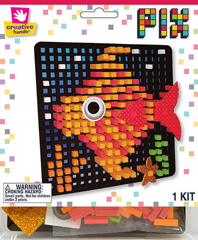 Fish Pixelated Craft Kit
