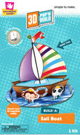 3D Pop 'n Build Sailboat