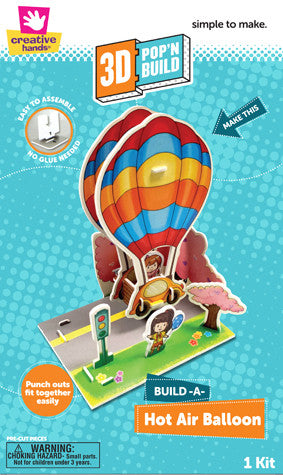 3D Pop n' Build Hot Air Balloon