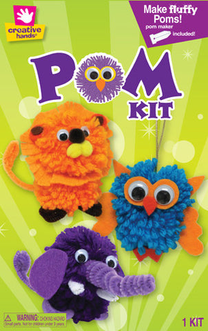 Zoo Animals Pom Pom Creature Kit