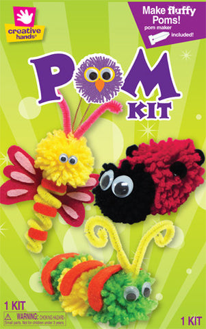 Garden Friends Pom Pom Creature Kit