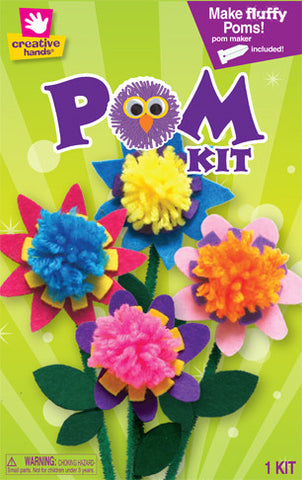 Flower Bouqet Pom Pom Kit