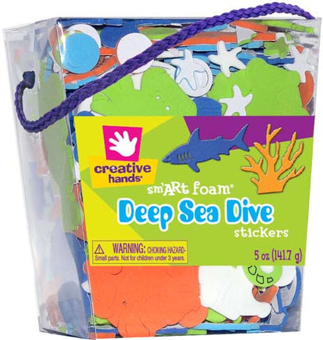Deep Sea Dive Stickers