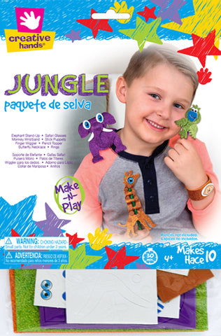 Jungle Animal Craft Kit