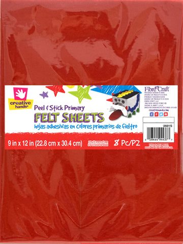 Peel and Stick Felt Sheets