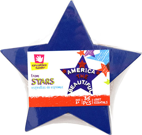 Americana Star Shape Stack-35 pc.- Red/White/Blue