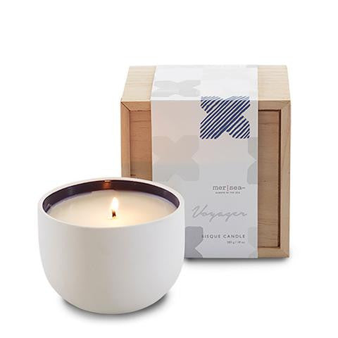 Mer-Sea & Co. Voyager Bisque Candle