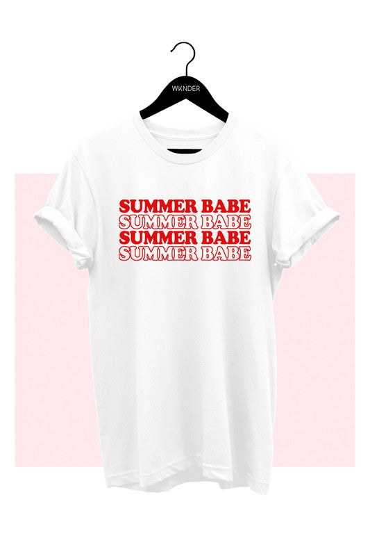 Summer Babe Graphic T