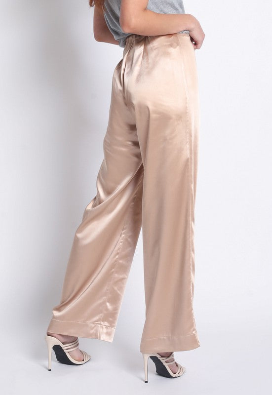Tish Satin Pants