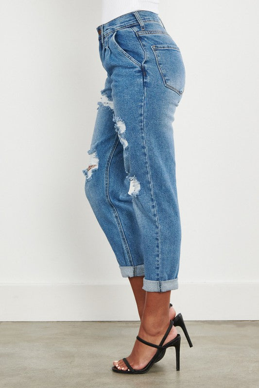 Mercury Distressed Jeans