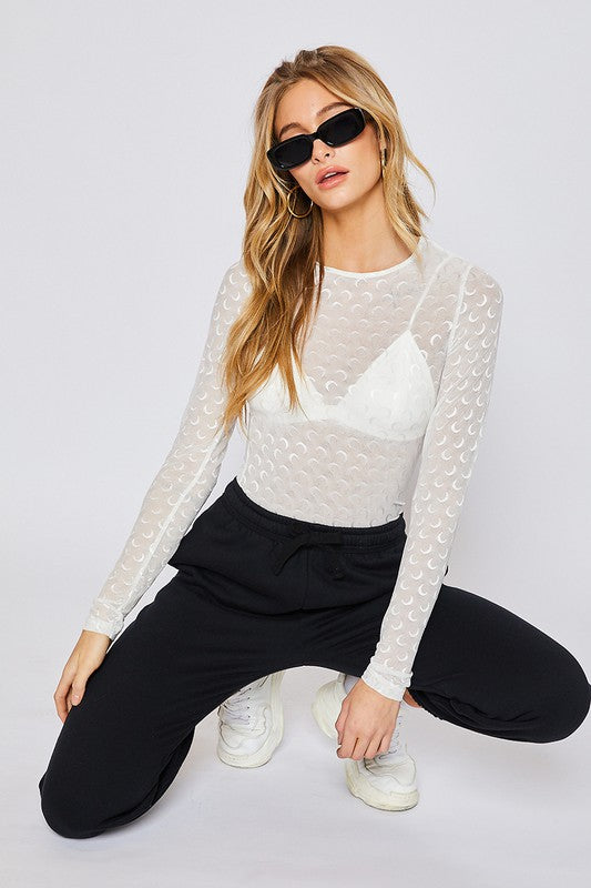 Starlight Mesh Top