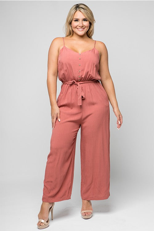 Lana Ray Jumpsuit (PLUS)