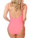 Coral One Piece Swim suit(Clearance)