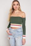 Ciara Long Sleeve Crop (Clearance)