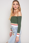 Simi Long Sleeve Crop Top (Clearance)