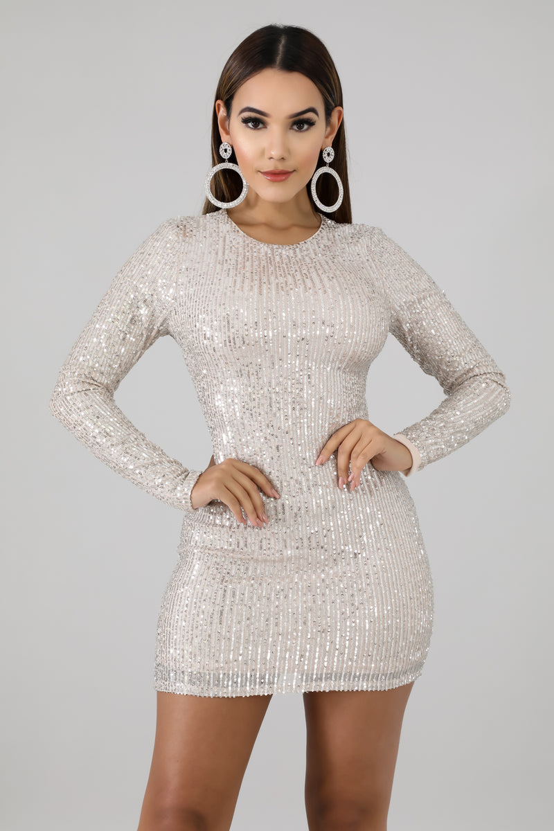 Stormi Sequin Dress