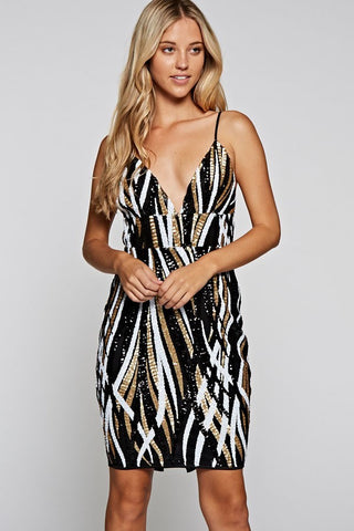 Hannah Ribbed Bodycon Dress