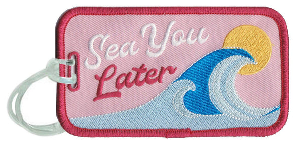 See You Later Luggage Tags