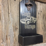 Camaro Sign Man Cave Decor Classic Vintage Car Bottle Opener - Dad's Garage Papa's Garage Bottle Opener Bar Decor Garage Decor