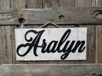 Cutout Wooden Sign, Name Cut Out Sign, Name Sign, Cutout Sign, Kids Room, Home Decor, Wood Art, Nursery Sign