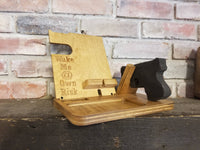 Phone Gun Charging Station, Nightstand Caddy, Phone Caddy, Gift for him